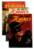 Silver Age (1956-1969):Adventure, Four Color Zoro Related Group (Dell, 1957).... (Total: 6 Comic Books)