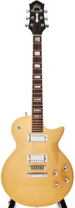 Musical Instruments:Electric Guitars, 1997 Guild Bluesbird Gold Top Solid Body Electric Guitar, #CL001677....
