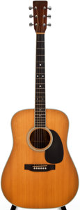 Musical Instruments:Acoustic Guitars, 1978 Martin D-35 Natural Acoustic Guitar, #400011....