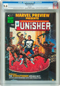 Magazines:Superhero, Marvel Preview #2 Punisher (Marvel, 1975) CGC NM 9.4 Whitepages....