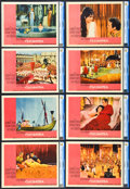 """Movie Posters:Historical Drama, Cleopatra (20th Century Fox, 1963). Lobby Card Set of 8 (11"""" X14"""").. ... (Total: 8 Items)"""