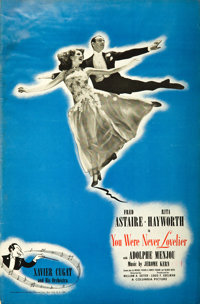 You Were Never Lovelier/ You'll Never Get Rich (Columbia, 1941-42). Uncut Pressbooks (2) (48 Pages & 46 Pages, 12.25...