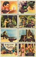 "Movie Posters:Fantasy, The 7th Voyage of Sinbad (Columbia, 1958). Lobby Card Set of 8 (11""X 14"").. ... (Total: 8 Items)"