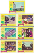 "Movie Posters:Action, Batman (20th Century Fox, 1966). Lobby Cards (7) (11"" X 14"").. ...(Total: 7 Items)"