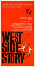 "Movie Posters:Academy Award Winners, West Side Story (United Artists, 1961). Three Sheet (41"" X 81"")....."