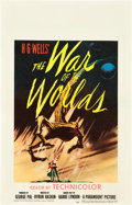 "Movie Posters:Science Fiction, The War of the Worlds (Paramount, 1953). Window Card (14"" X 22"")....."