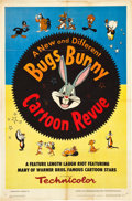 "Movie Posters:Animated, Bugs Bunny Cartoon Revue (Warner Brothers, 1953). One Sheet (27"" X41"").. ..."