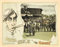 "Movie Posters:Comedy, The General (United Artists, 1927). Lobby Card (11"" X 14"").. ..."