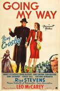 """Movie Posters:Drama, Going My Way (Paramount, 1944). One Sheet (27"""" X 41"""").. ..."""