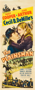 """Movie Posters:Western, The Plainsman (Paramount, 1936). Insert (14"""" X 36"""").. ..."""