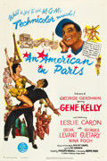"""Movie Posters:Musical, An American in Paris (MGM, 1951). One Sheet (27"""" X 41"""").. ..."""