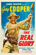 "Movie Posters:War, The Real Glory (United Artists, 1939). One Sheet (27"" X 41"").. ..."
