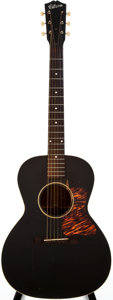 Musical Instruments:Acoustic Guitars, 1941 Gibson L-00 Black Acoustic Guitar, #399G....