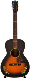 Musical Instruments:Acoustic Guitars, 1939 Gibson H-0 Sunburst Acoustic Guitar, #EG-31-48....