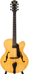 Musical Instruments:Acoustic Guitars, 2005 Martin CF-1 American Natural Archtop Electric Guitar, #1033666....