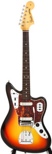 Musical Instruments:Electric Guitars, 1965 Fender Jaguar Sunburst Solid Body Electric Guitar, #L84966....