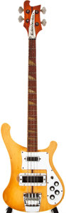 Musical Instruments:Bass Guitars, 1976 Rickenbacker 4001 Bass Mapleglo Electric Bass Guitar, #PB1007....