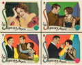 "Movie Posters:Romance, The Shopworn Angel (Paramount, 1928). Lobby Cards (4) (11"" X 14"")..... (Total: 4 Items)"