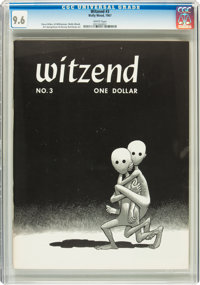 Witzend #3 (Wally Wood, 1967) CGC NM+ 9.6 White pages