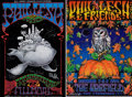 Music Memorabilia:Autographs and Signed Items, Phil Lesh and Friends Band-Signed Concert Posters (1998-99)....(Total: 2 Items)