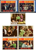 """Movie Posters:Drama, The Little Foxes (RKO, 1941). Lobby Cards (7) With (2) CGC Graded (11"""" X 14"""").. ... (Total: 7 Items)"""