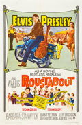 """Movie Posters:Elvis Presley, Roustabout (Paramount, 1964). One Sheet (27"""" X 41"""").. ..."""