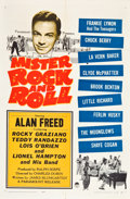 "Movie Posters:Rock and Roll, Mister Rock and Roll (Paramount, 1957). One Sheet (27"" X 41"").. ..."