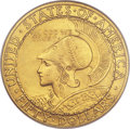 Commemorative Gold, 1915-S $50 Panama-Pacific 50 Dollar Round MS63 NGC....