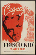 "Movie Posters:Adventure, Frisco Kid (Warner Brothers, R-1942). One Sheet (26.5"" X 41"").Adventure.. ..."