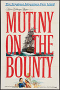 """Movie Posters:Adventure, Mutiny on the Bounty (MGM, 1962). One Sheet (27"""" X 41"""") Style A.Adventure.. ..."""