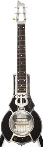 Musical Instruments:Lap Steel Guitars, 1936 Dobro 1 Hawaiian Cast Aluminum Body Lap Steel Guitar, #A 142....