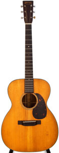 Musical Instruments:Acoustic Guitars, 1941 Martin 000-18 Natural Acoustic Guitar, #78810....