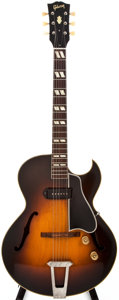 Musical Instruments:Electric Guitars, 1949 Gibson ES-175 Sunburst Archtop Electric Guitar, #A-3704....