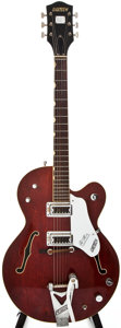 Musical Instruments:Electric Guitars, 1967 Gretsch Tennessean Burgundy Archtop Electric Guitar, #6717....