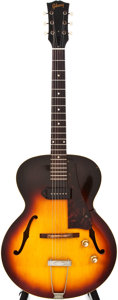 Musical Instruments:Electric Guitars, 1960 Gibson ES-125 Sunburst Archtop Electric Guitar, #R6794....