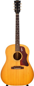 Musical Instruments:Acoustic Guitars, 1968 Gibson J-50 ADJ Natural Acoustic Guitar, #948456....