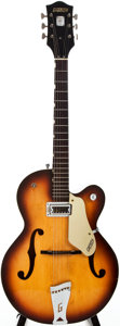 Musical Instruments:Electric Guitars, 1967 Gretsch Anniversary Sunburst Semi-Hollow Body Electric Guitar,#271025....