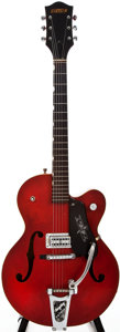 Musical Instruments:Electric Guitars, 1961 Gretsch 6119 Semi-Hollow Body Electric Guitar, #40672....