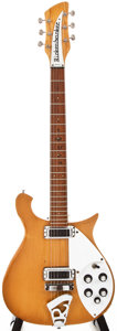 Musical Instruments:Electric Guitars, 1968 Rickenbacker 620 Natural Solid Body Electric Guitar,#IC211....