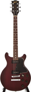 Musical Instruments:Electric Guitars, 1977 Gibson Les Paul Special Cherry Solid Body Electric Guitar,#73337056....