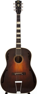 Musical Instruments:Acoustic Guitars, 1930 Gibson HG-24 Sunburst Acoustic Guitar, #N/A....