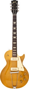 Musical Instruments:Electric Guitars, 1952 Gibson Les Paul Gold Solid Body Electric Guitar, #N/A....