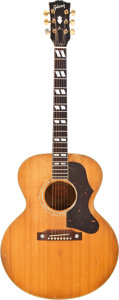 Musical Instruments:Acoustic Guitars, 1958 Gibson J-185 Natural Acoustic Guitar, #T4933....