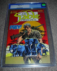 Jon Sable Freelance #19 (First Comics, 1984) CGC NM/MT 9.8 White pages