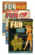 Magazines:Humor, Army & Navy Fun Parade File Copy Short Box Group (Fun Parade,1940s-50s)....