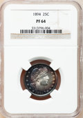 Proof Barber Quarters, 1894 25C PR64 NGC....