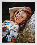 Movie/TV Memorabilia:Photos, Marilyn Monroe Norma Jeane Against Sycamore Limited EditionDigital Print by Richard C. Miller....