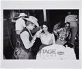 Movie/TV Memorabilia:Photos, James Dean and Elizabeth Taylor Giant Limited Edition SetPhoto by Richard C. Miller....