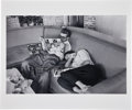 Movie/TV Memorabilia:Photos, James Dean and Elizabeth Taylor Giant Limited Edition Printby the Richard C. Miller Estate....