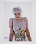 Movie/TV Memorabilia:Photos, Marilyn Monroe Sequin Dress, Some Like It Hot LimitedEdition Digital Print by Richard C. Miller....